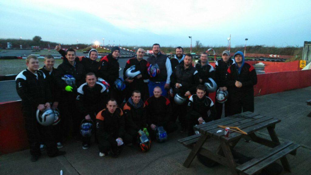 Enviro GY Team at Chequred Flag Karting